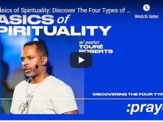Pastor Touré Roberts - Discover The Four Types of Prayer