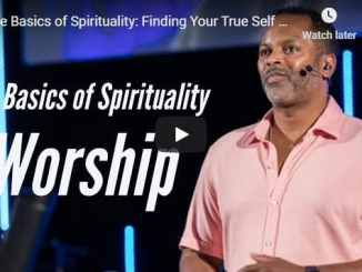 Pastor Touré Roberts - The Basics of Spirituality - August 17 2020