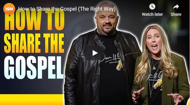 Pour It Out - Ben & Jodie Hughes - How to Share the Gospel -2020