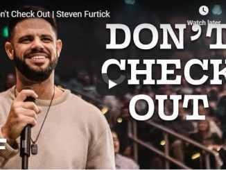 Steven Furtick Sermon August 8 2020