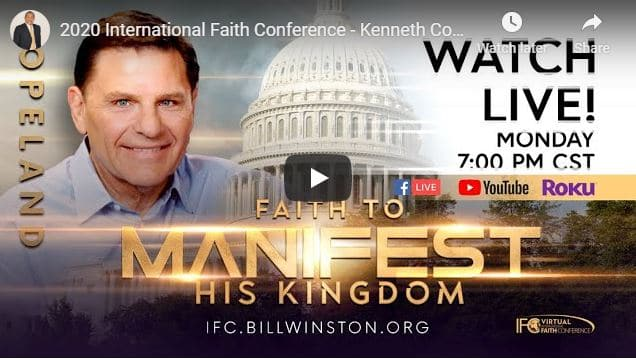 2020 International Faith Conference With Kenneth Copeland