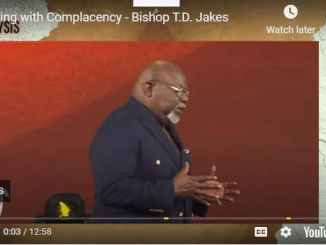 Bishop TD Jakes - Coping with Complacency - September 12 2020