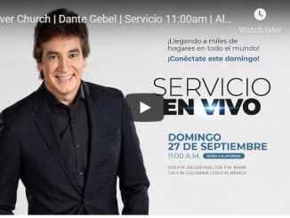Dante Gebel Sunday Live Service September 27 2020