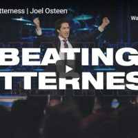 Joel Osteen - Beating Bitterness - September 19 2020