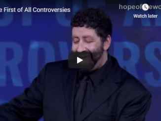 Jonathan Cahn - The First of All Controversies - September 2020