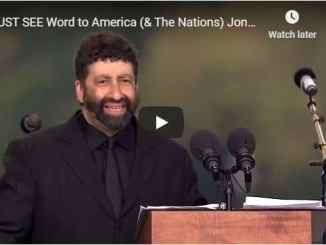 Jonathan Cahn - Must See Word To America and The Nations