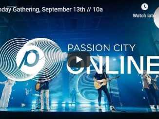 Passion City Church Live Service September 13 2020