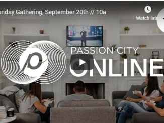Passion City Church Sunday Live Service September 20 2020