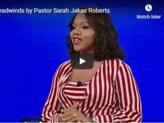Pastor Sarah Jakes Roberts - Headwinds