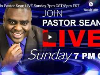 Pastor Sean Pinder Sunday Live Service September 6 2020
