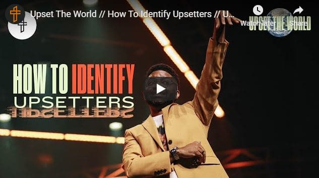 Pastor Tim Ross - How To Identify Upsetters