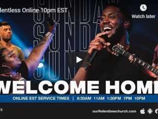 Relentless Church Sunday Live Service September 13 2020
