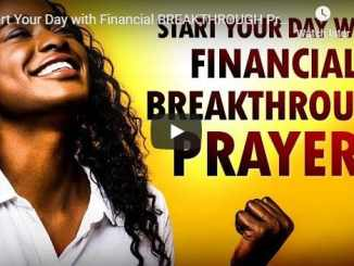 Sean Pinder Morning Prayer - Financial Breakthrough Prayers