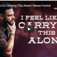 Steven Furtick - I Feel Like I'm Carrying This Alone - September 29