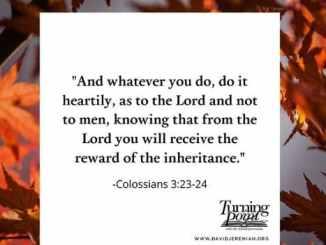 David Jeremiah Devotional October 26 2020