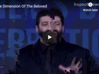 Jonathan Cahn - The Dimension Of The Beloved - October 2020