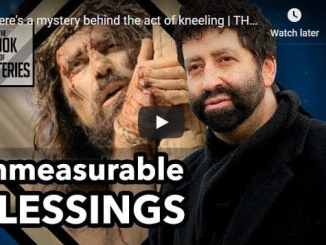 Jonathan Cahn - mystery behind the act of kneeling