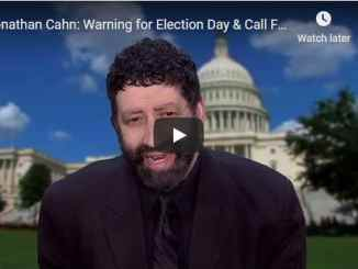 Jonathan Cahn - Warning for Election Day & Call For Day of Prayer