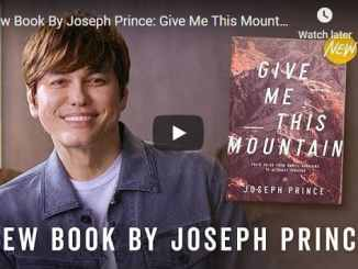 New Book Joseph Prince - Give Me This Mountain