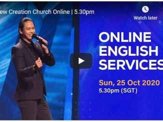 New Creation Church Sunday Live Service October 25 2020