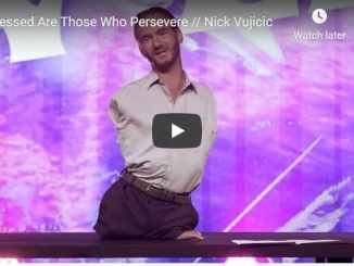 Nick Vujicic - Blessed Are Those Who Persevere