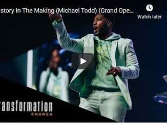 Pastor Michael Todd Sermon - History In The Making