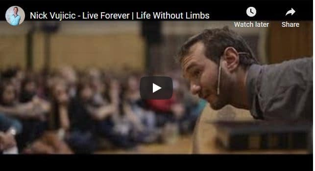 Pastor Nick Vujicic - Live Forever