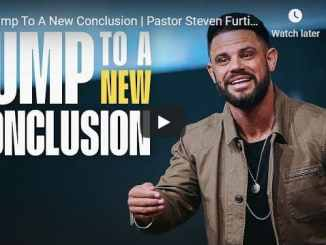 Steven Furtick - Jump To A New Conclusion