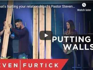 Pastor Steven Furtick Sermon - Putting Up Walls