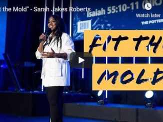 Sarah Jakes Roberts - Fit the Mold