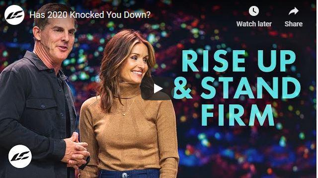 Amy Groeschel Sermon - Has 2020 Knocked You Down?