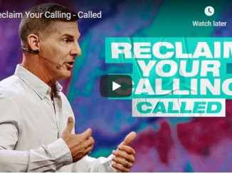 Craig Groeschel Sermon - Reclaim Your Calling - Called