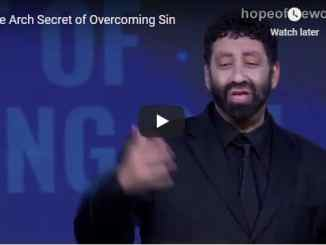 Jonathan Cahn Sermon - The Arch Secret of Overcoming Sin