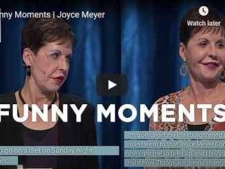 Joyce Meyer Message - Funny Moments