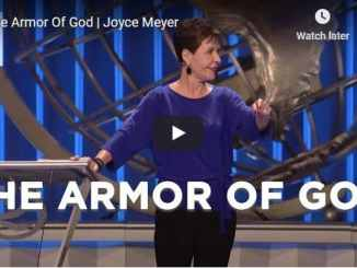 Joyce Meyer Sermon - The Armor Of God