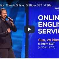 New Creation Church Sunday Live Service November 29 2020