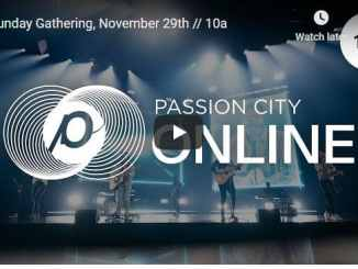 Passion City Church Sunday Live Service November 29 2020