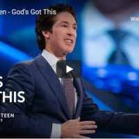 Pastor Joel Osteen Sermon - God's Got This