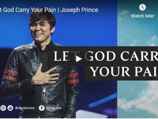 Pastor Joseph Prince Sermon - Let God Carry Your Pain