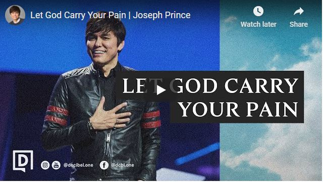 Pastor Joseph Prince Sermon - Let God Carry Your Pain