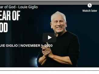 Pastor Louie Giglio Sermon - Fear of God