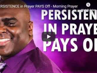 Pastor Sean Pinder Morning Prayer November 11 2020