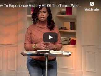 Taffi Dollar Message - How To Experience Victory All Of The Time