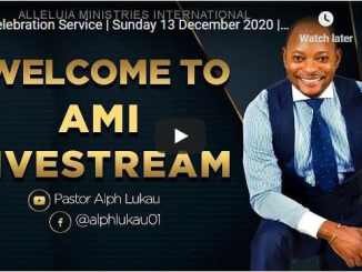 Pastor Alph Lukau Sunday Live Service December 13 2020