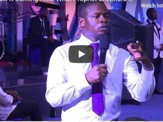 Prophet Shepherd Bushiri Sunday Live Service December 6 2020