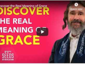 Rabbi Schneider Sermon - Discover the Real Meaning of Grace
