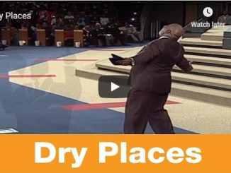 Bishop TD Jakes Sermon - Dry Places
