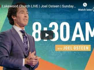 Lakewood Church Sunday Live Service January 31 2021