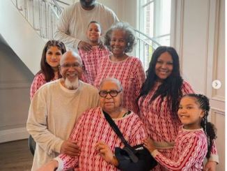 Latest Family Pictures of Pastor John Gray and his Wife Aventer Gray
