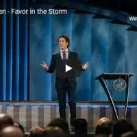 Pastor Joel Osteen Sermon - Favor in the Storm